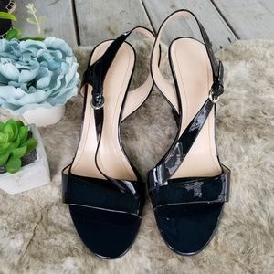 Franco Sarto Navy Blue Sandals  size 10M